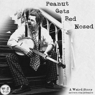 Peanut Gets Red Nosed
